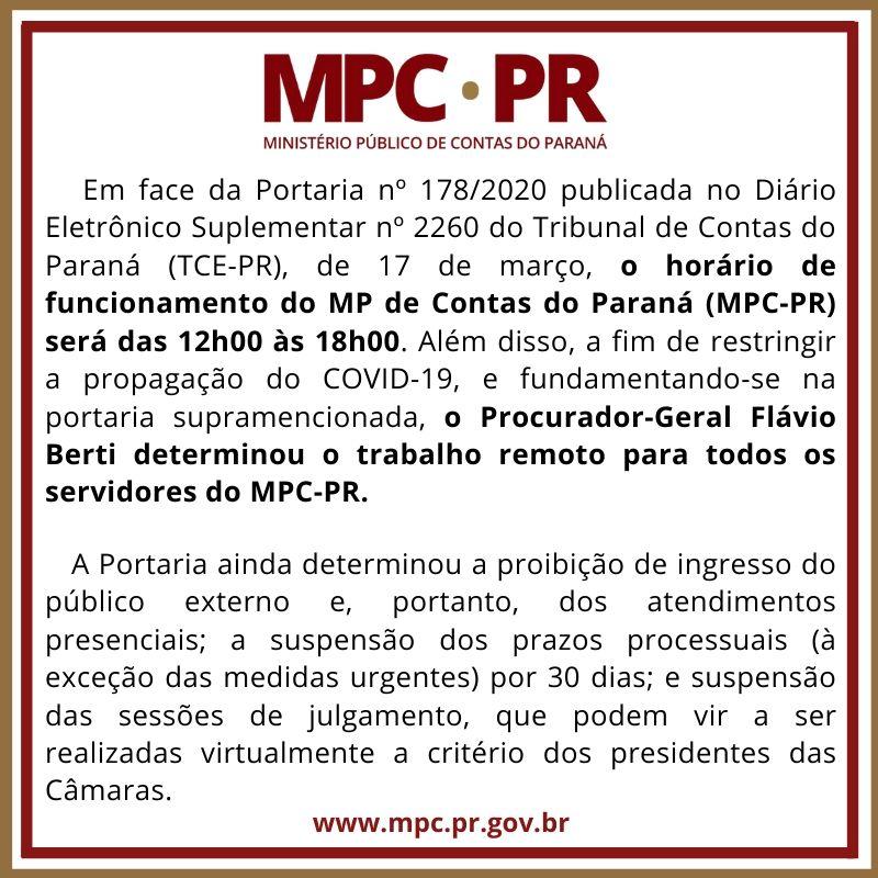 MP de Contas contra o COVID-19