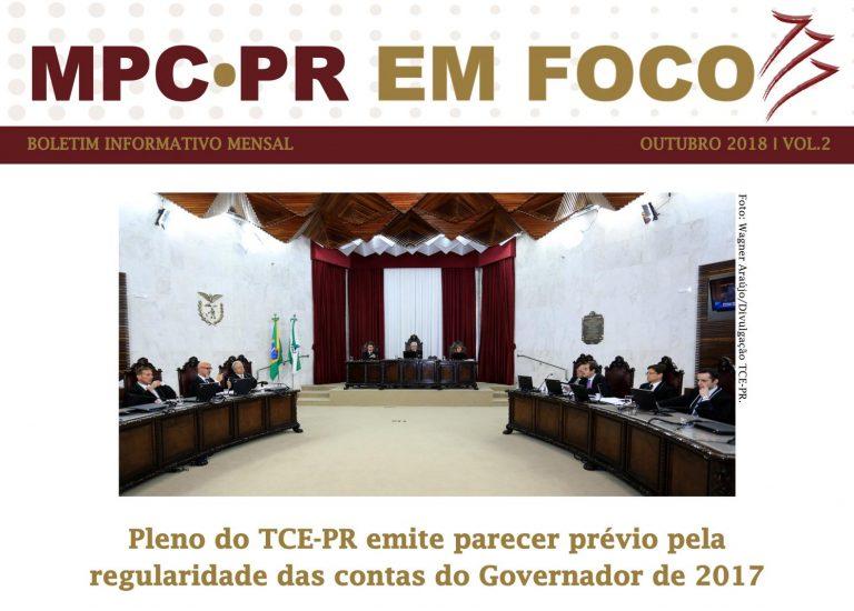Boletim Informativo MPC-PR em Foco outubro/2018