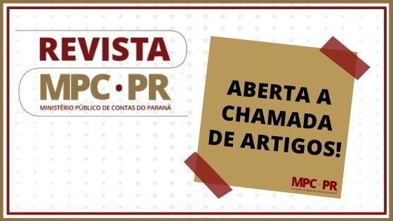 Aberta a chamada de artigos para a 12ª edição da Revista do MP de Contas