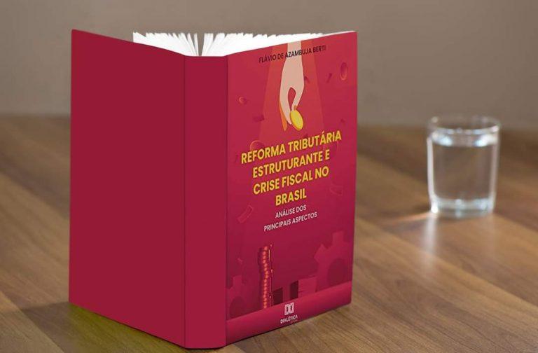 Pandemia acentua urgência da reforma tributária, aponta livro de Procurador do MP de Contas