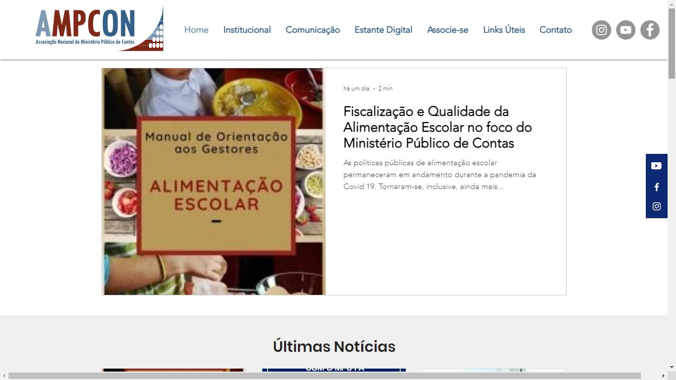 AMPCON: Fiscalização e qualidade da alimentação escolar no foco do Ministério Público de Contas