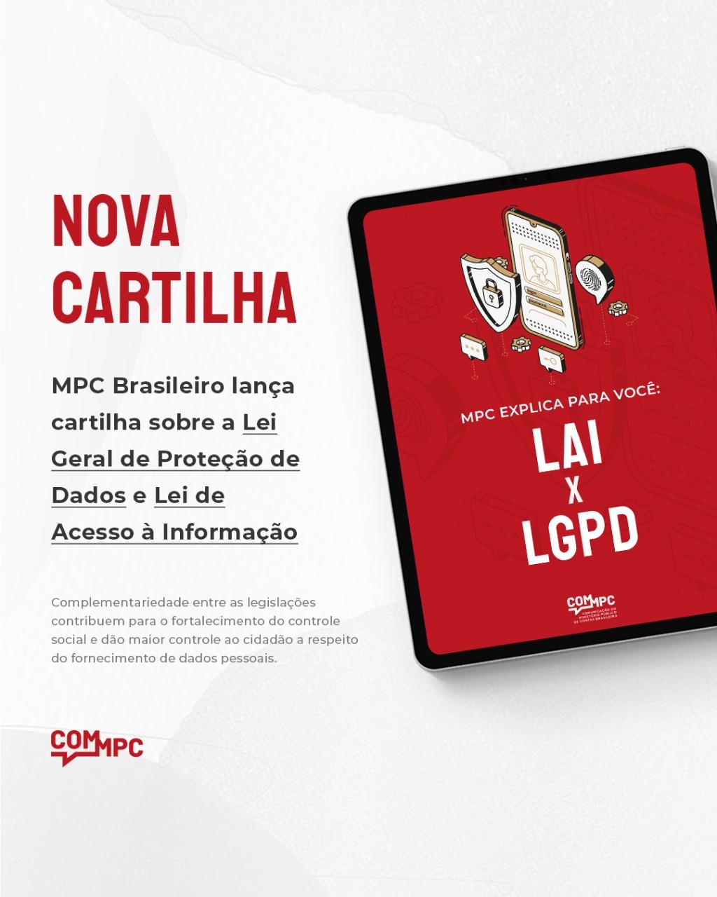 Cartilha LAI x LGPD imag