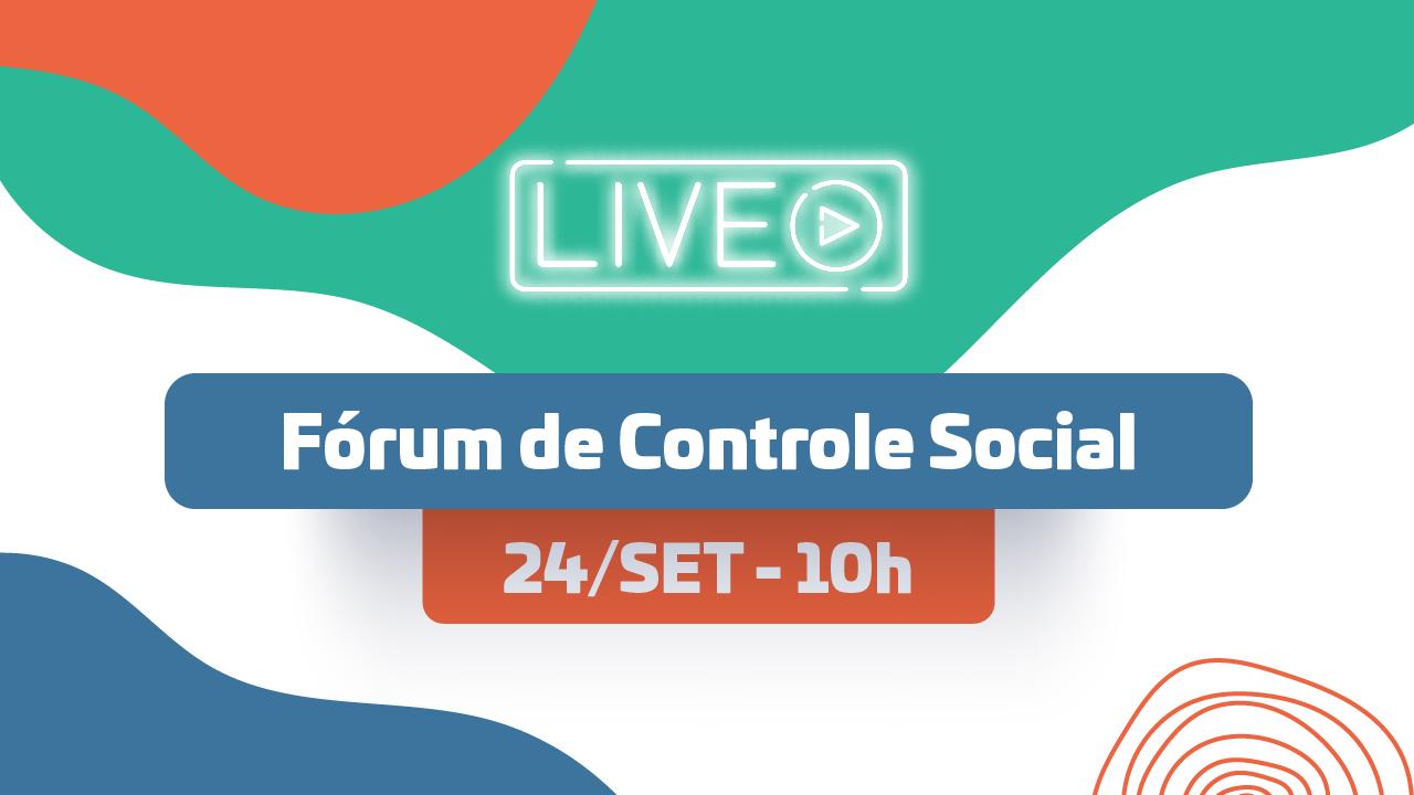 MP de Contas participa da primeira edição online do Fórum de Controle Social
