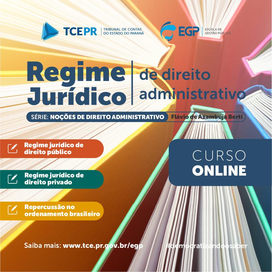 MP de Contas participa de curso online do TCE-PR sobre Noções de Direito Administrativo