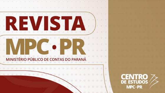 14ª edição da Revista do MPC-PR já está disponível